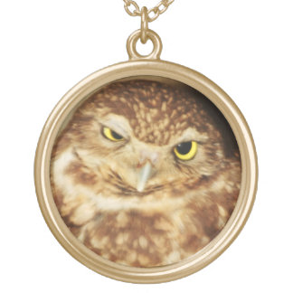 Owl of a Good Time Nature Gold Chain Necklace