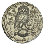 Owl of Athena Dinner Plate