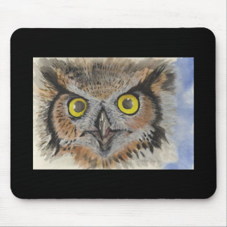 OWL OF THE NIGHT MOUSE PAD