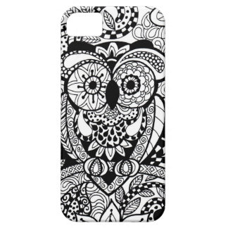 Owl of Wishes Color Your Own Zendoodle Products iPhone SE/5/5s Case