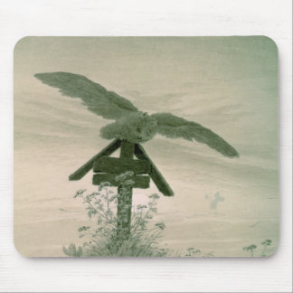Owl on a Grave, 1836-7 Mouse Pad