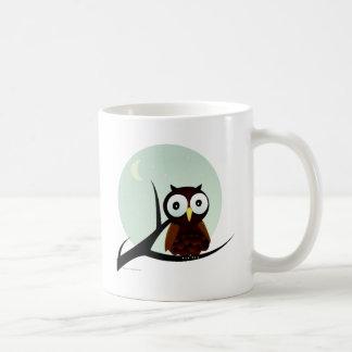 Owl on a Limb Mugs