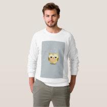 Owl on a stary background illustration sweatshirt