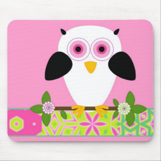 Owl on a String Mousepad