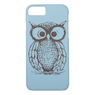 Owl on iphone case