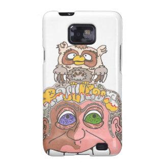 Owl on my head samsung galaxy SII covers