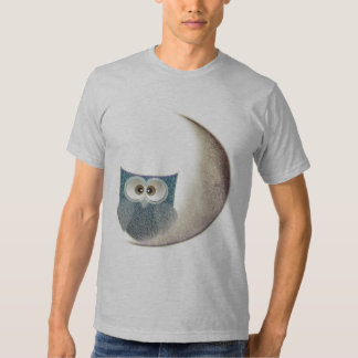 Owl on the Moon T-Shirt