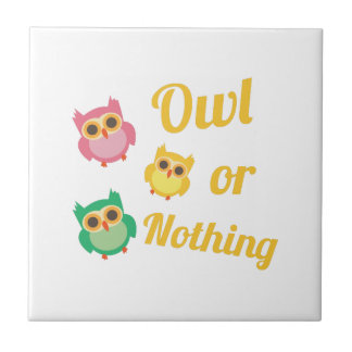 Owl or Nothing Tiles