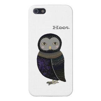 Owl Original Illustration Little Owl iPhone 5 Case