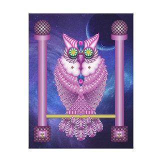 Owl - owl canvas print