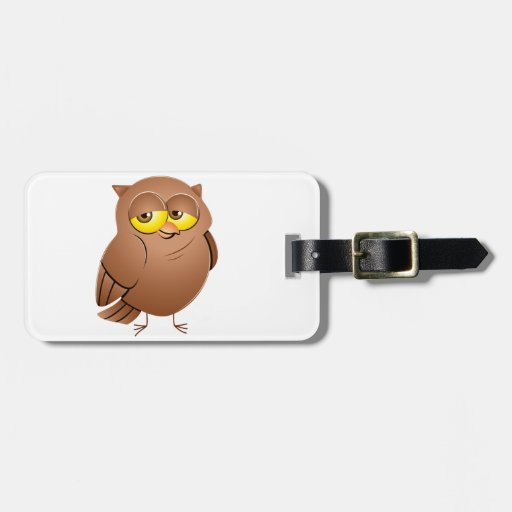 Owl owl tags for bags