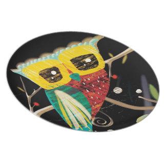 Owl Owlies Owls Plates