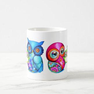Owl Parents and Baby Coffee Mug