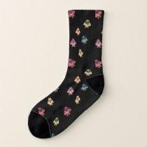 Owl Party - Pattern Socks