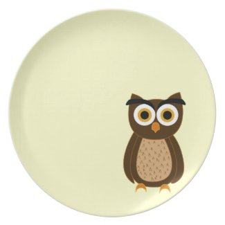 Owl Party Plates