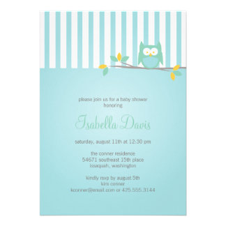Owl Party / Shower Invitation