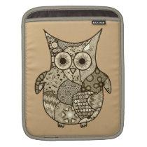 Owl Pattern iPad Sleeve