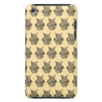 Owl Pattern iPod Case-Mate Case