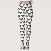 Owl Pattern Leggings