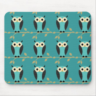 Owl Pattern Mouse Pad