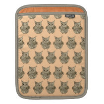 Owl Pattern Sleeve For iPads