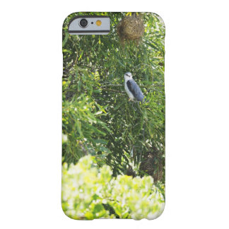 Owl perching on a tree barely there iPhone 6 case