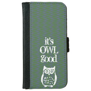 Owl Personalized iPhone 6/6s Wallet Case