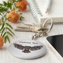 Owl Personalized Keychain