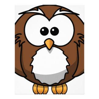 Owl Personalized Letterhead