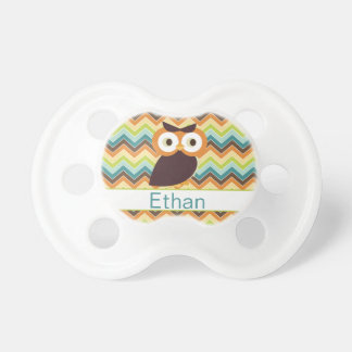 Owl {personalized} Pacifier BooginHead Pacifier