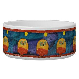 Owl Pet Bowls