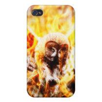 Owl Phoenix Cases For iPhone 4