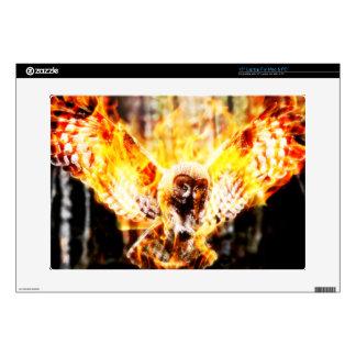 """Owl Phoenix Skins For 15"""" Laptops"""