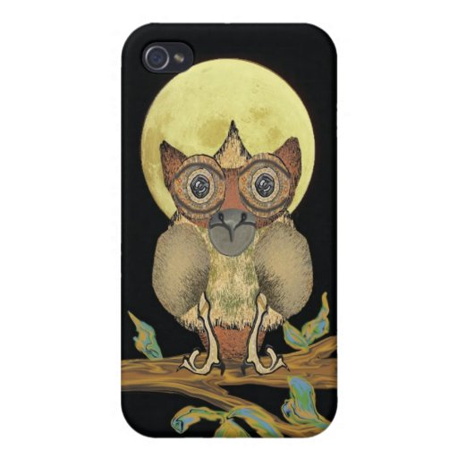 Owl  Phone Cover iPhone 4 Cases
