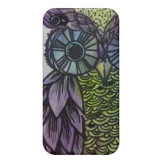 Owl Phone Cases For iPhone 4