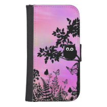 owl phone wallet