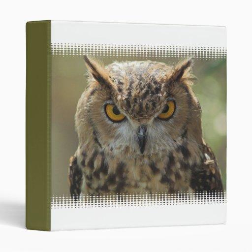 Owl Photo Binder