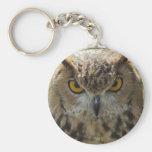 Owl Photo Keychain