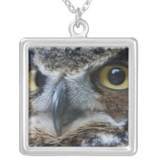 Owl Photo Necklace