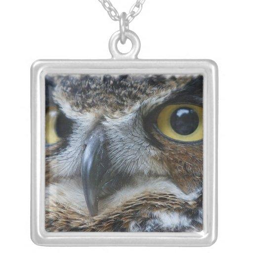 Owl Photo Necklace