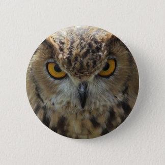 Owl Photo Round Button