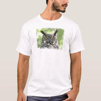 Owl Photograph T-Shirt