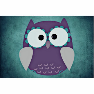 Owl Standing Photo Sculpture