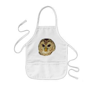 Owl Picture Kids' Apron