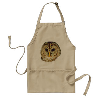 Owl Picture Adult Apron