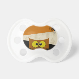 Owl Picture Baby Pacifier