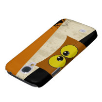 Owl Picture Samsung Galaxy S4 Cover