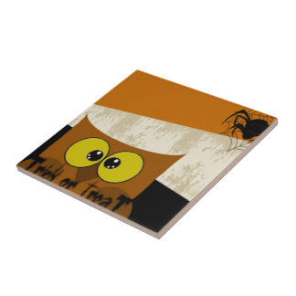 Owl Picture Tile