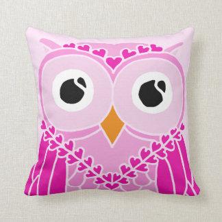 Owl Pillow: Cute Girl Owl