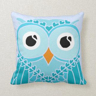 Owl Pillow: Night Owl Throw Pillows